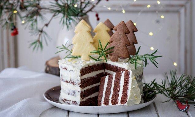 Домашна празнична торта