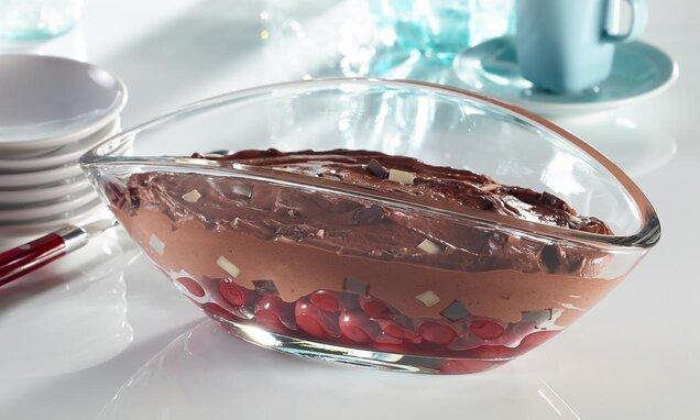 Шварцвалдски шоколадов крем с вишни